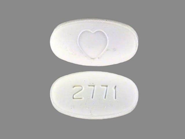 Image 1 - Imprint 2771 Logo (Heart) - Avapro 75 mg