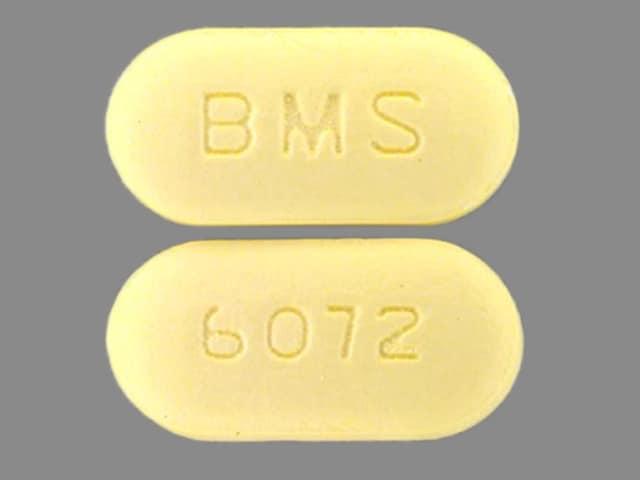 Image 1 - Imprint BMS 6072 - Glucovance 1.25 mg / 250 mg