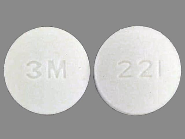 Imprint 3M 221 - Norflex 100 mg