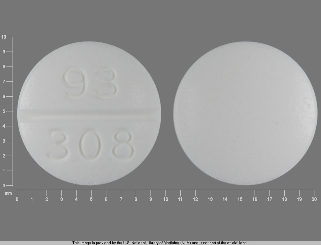 Imprint 93 308 - clemastine 2.68 mg