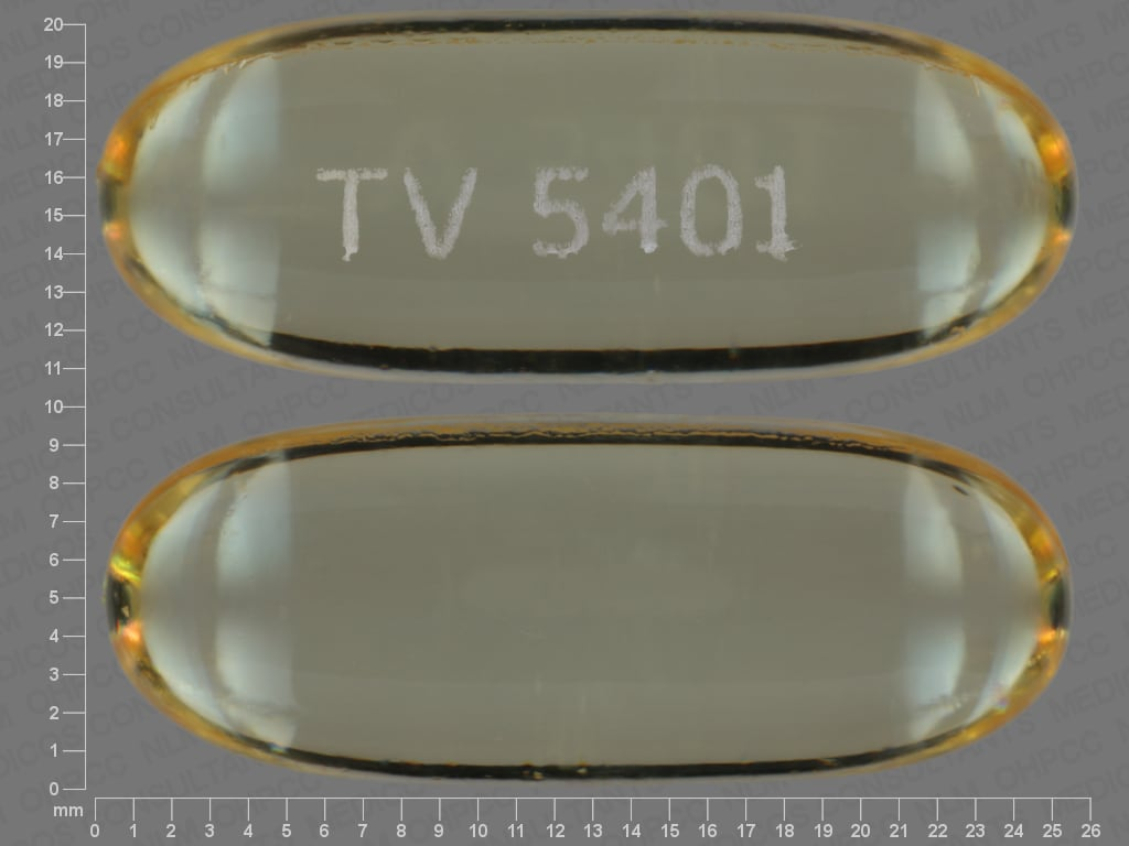 Imprint TV 5401 - omega-3 polyunsaturated fatty acids 1000 mg