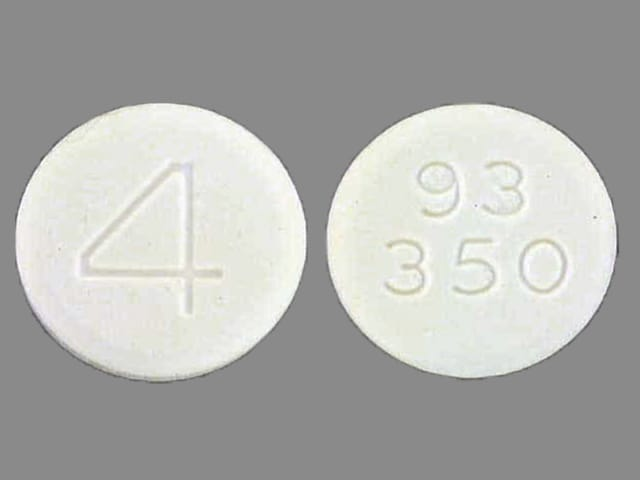 Image 1 - Imprint 93 350 4 - acetaminophen/codeine 300 mg / 60 mg