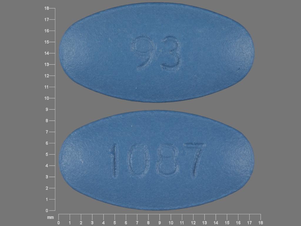 Imprint 93 1087 - cefaclor 500 mg