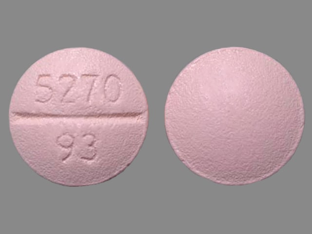 Imprint 5270 93 - bisoprolol 5 mg