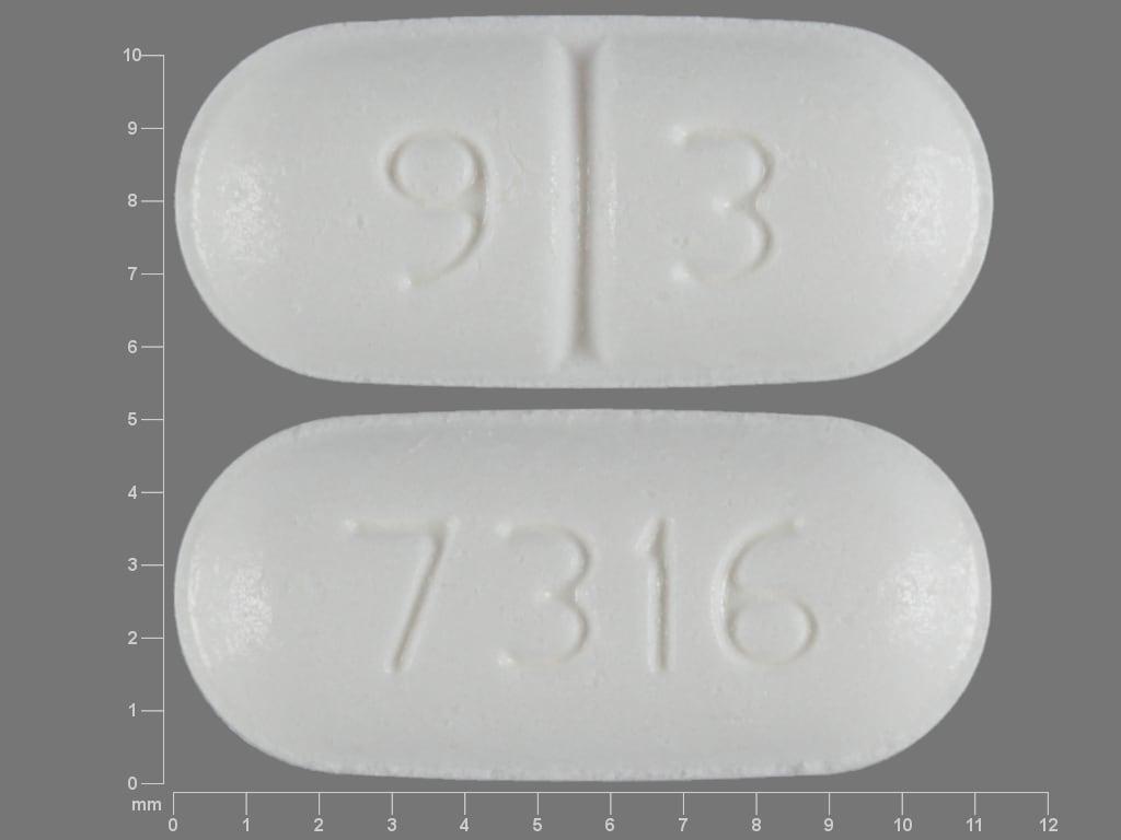Imprint 9 3 7316 - desmopressin 0.1 mg