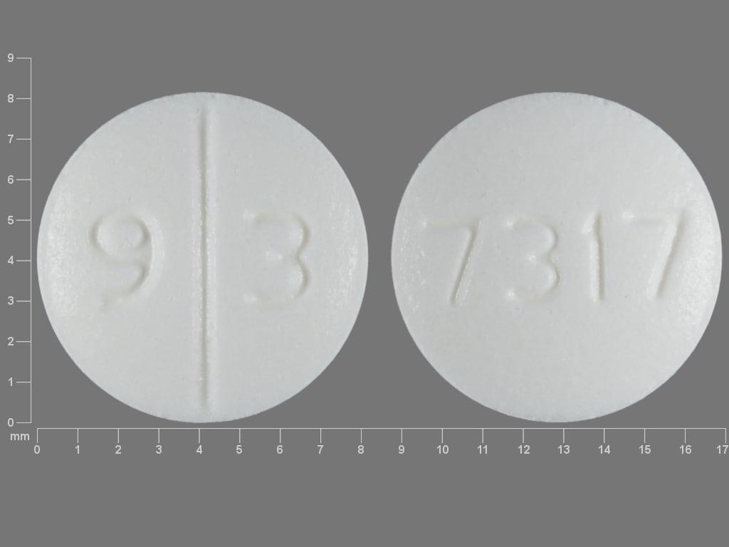 Imprint 9 3 7317 - desmopressin 0.2 mg