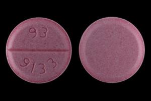 Image 1 - Imprint 93 9133 - amiodarone 200 mg