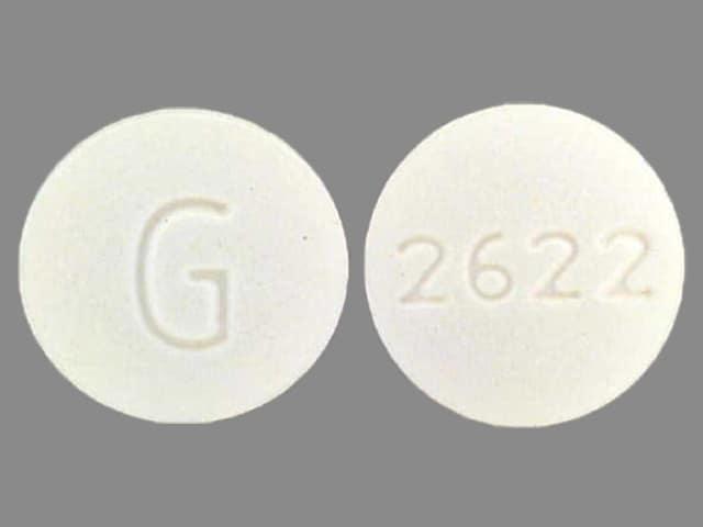 Imprint G 2622 - terbutaline 5 mg