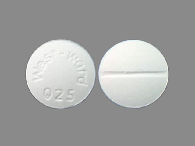 Imprint West-Ward 025 - aminophylline 200 mg