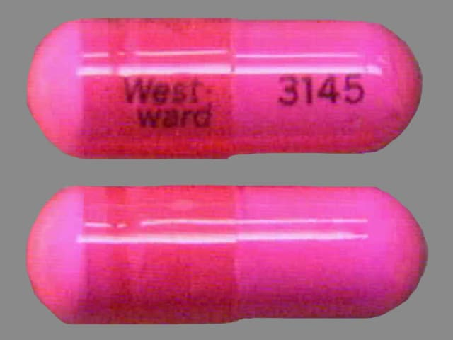 Imprint West-ward 3145 - ephedrine 25 mg