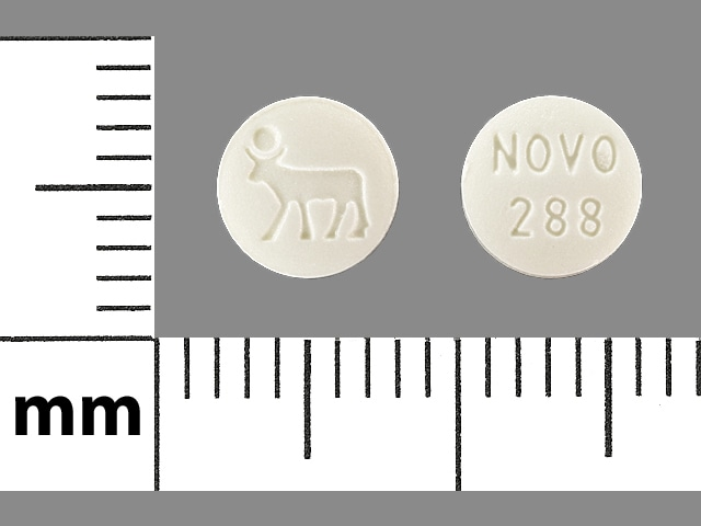 Imprint NOVO 288 LOGO - Activella estradiol 1 mg /  norethindrone acetate 0.5 mg