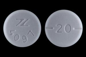 Imprint Z 4097 20 - baclofen 20 mg