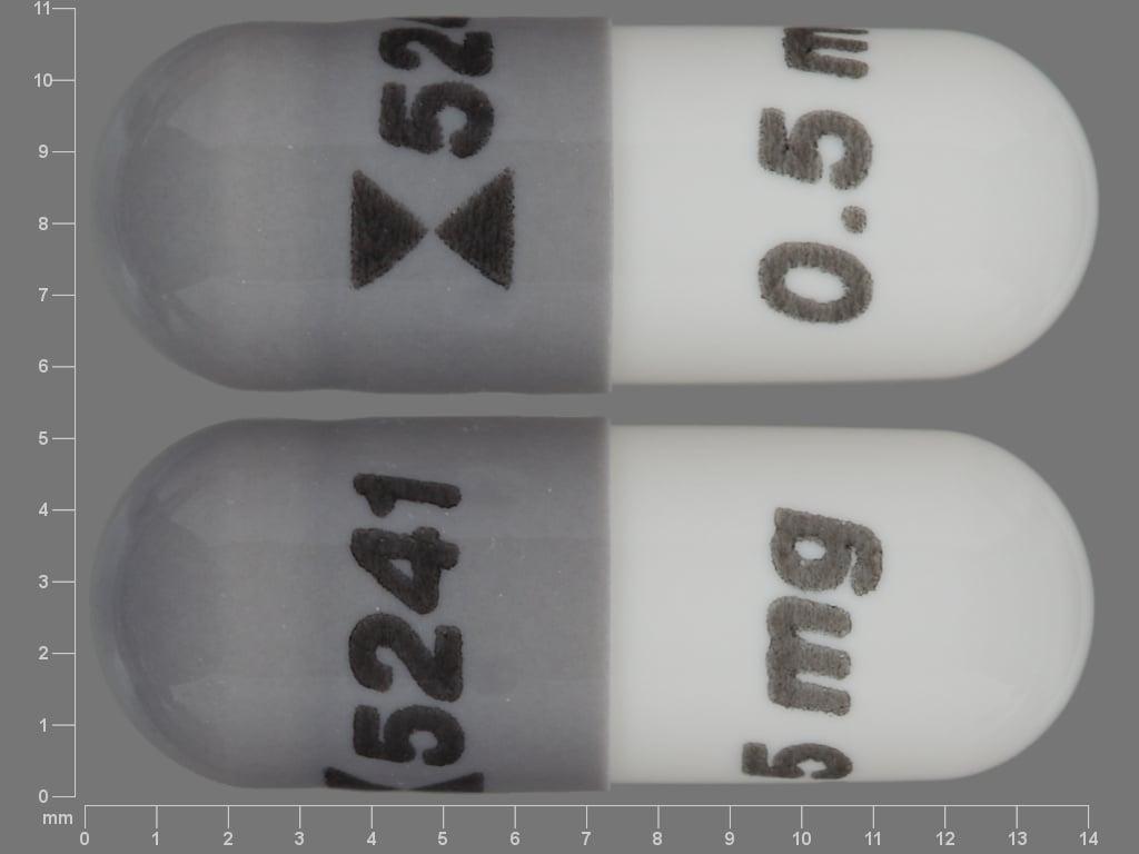 Imprint Logo 5241 0.5 mg - anagrelide 0.5 mg