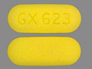 Imprint GX 623 - Ziagen 300 mg