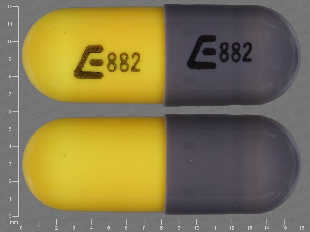Image 1 - Imprint E882 E882 - phentermine 15 mg