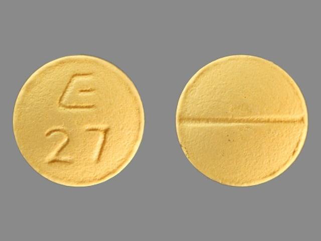 Imprint E 27 - fluvoxamine 50 mg