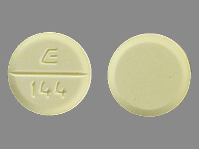 Imprint E 144 - amiodarone 200 mg