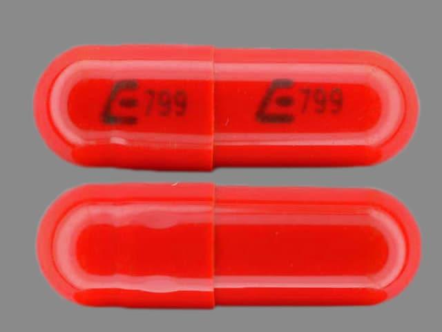 Image 1 - Imprint E799 E799 - rifampin 300 mg