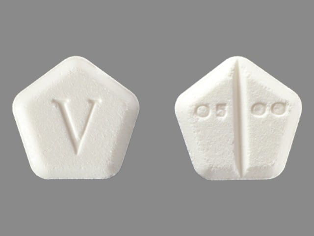 Imprint V 0500 - Motofen 0.025 mg / 1 mg