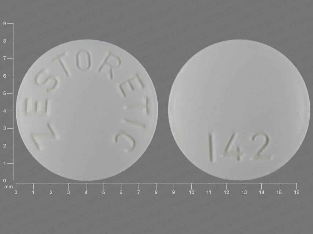Image 1 - Imprint ZESTORETIC 142 - Zestoretic 12.5 mg / 20 mg