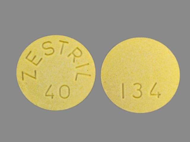 Image 1 - Imprint ZESTRIL 40 134 - Zestril 40 mg