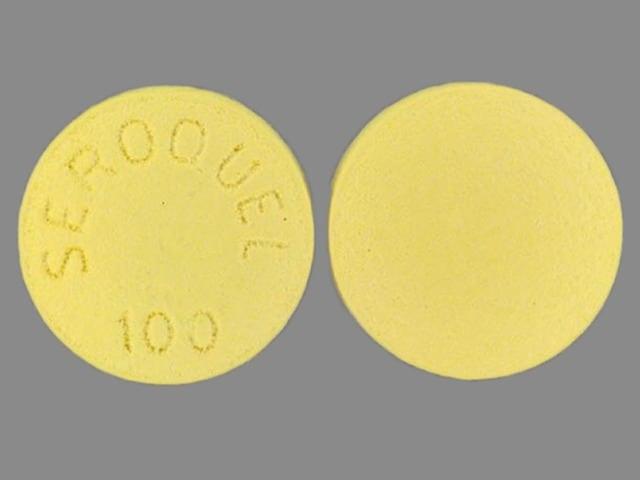 Imprint SEROQUEL 100 - Seroquel 100 mg