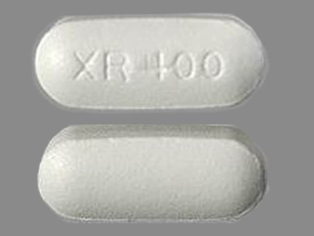 Imprint XR 400 - Seroquel XR 400 mg