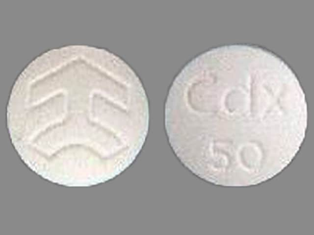 Imprint Cdx 50 Logo - Casodex 50 mg