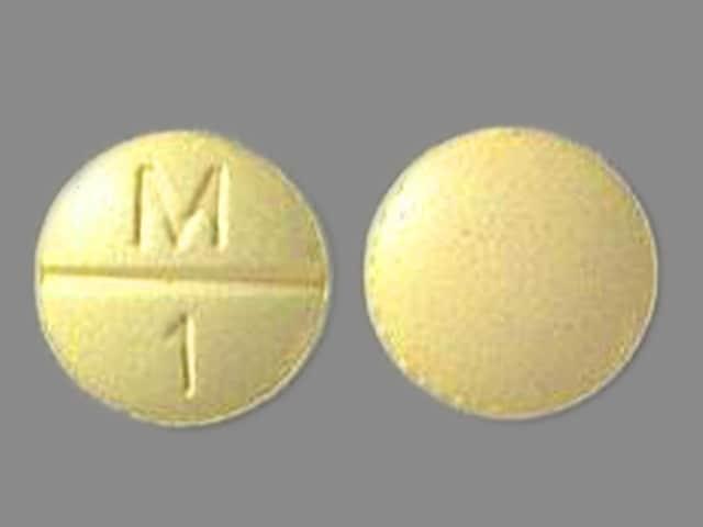 Imprint M 1 - Clorpres 15 mg / 0.1 mg