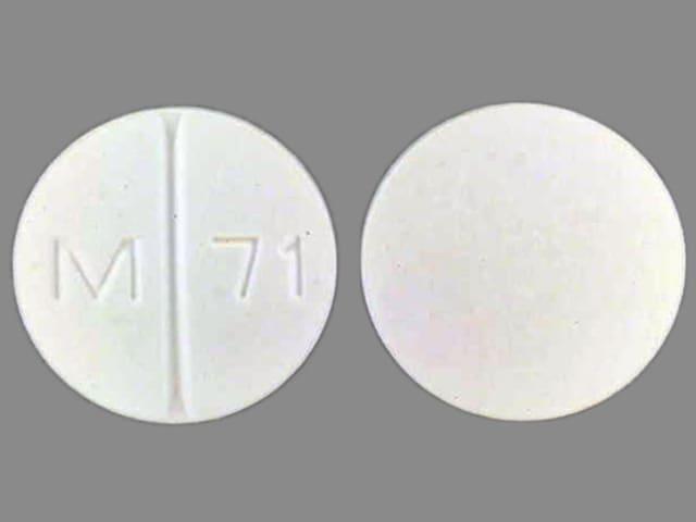 Imprint M 71 - allopurinol 300 mg