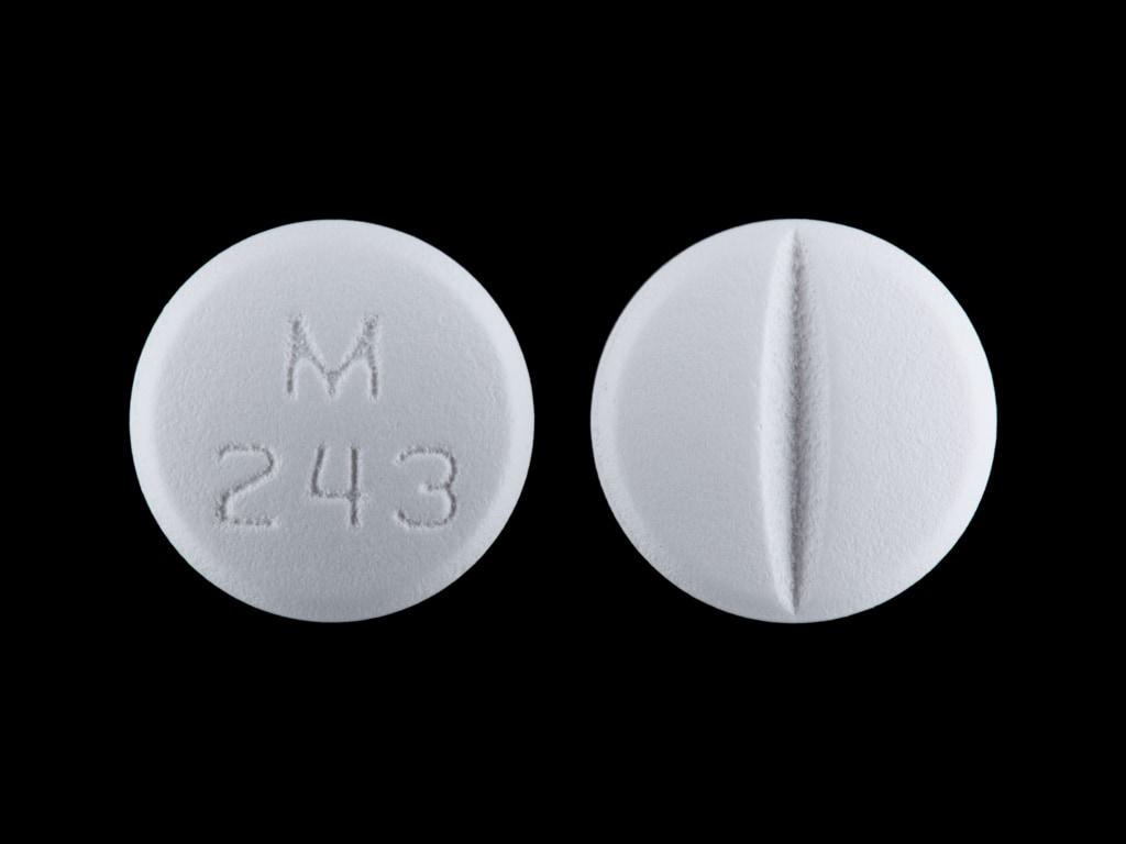 Imprint M 243 - spironolactone 50 mg