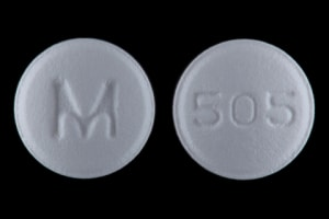 Imprint 505 M - bisoprolol/hydrochlorothiazide 10 mg / 6.25 mg