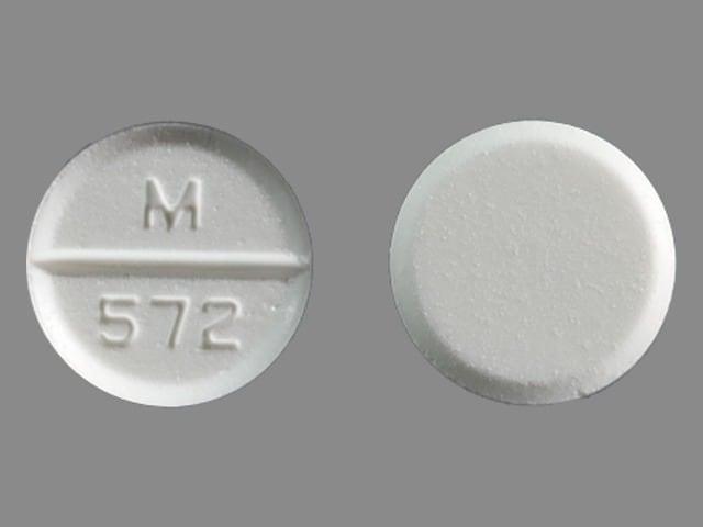 Imprint M 572 - albuterol 4 mg