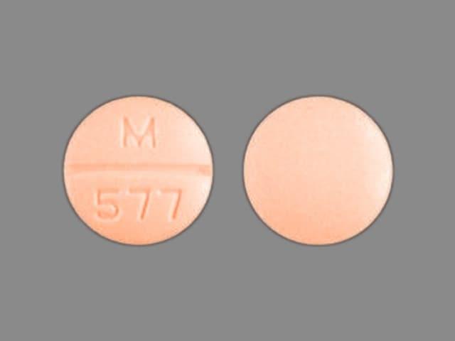 Imprint M 577 - amiloride/hydrochlorothiazide 5 mg / 50 mg