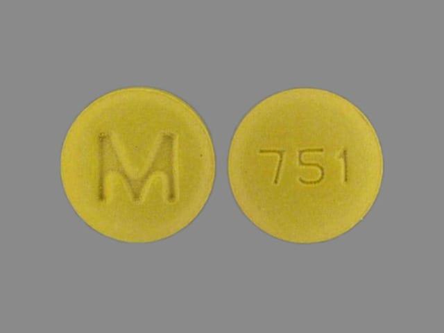 Imprint M 751 - cyclobenzaprine 10 mg