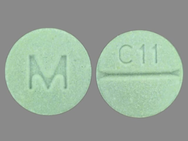 Imprint C11 M - clozapine 100 mg