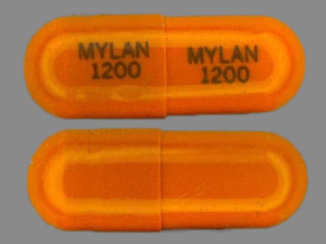 Imprint MYLAN 1200 MYLAN 1200 - acebutolol 200 mg