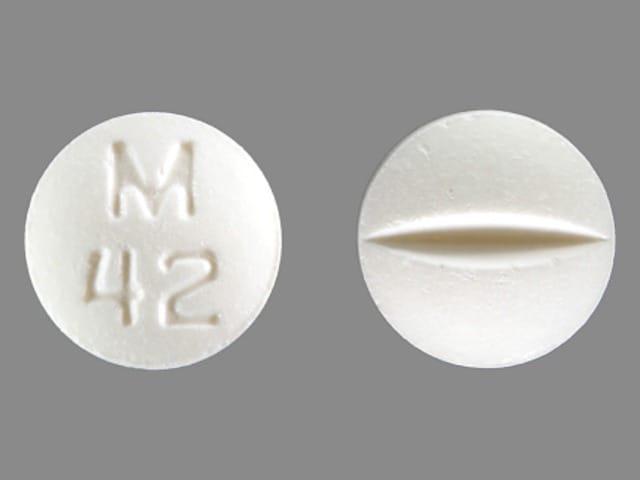 Imprint M 42 - bromocriptine 2.5 mg