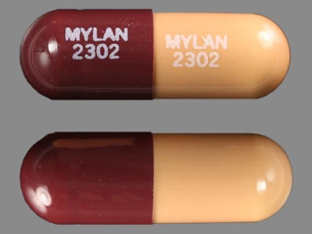 Imprint MYLAN 2302 MYLAN 2302 - prazosin 2 mg