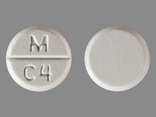 Image 1 - Imprint M C4 - captopril 100 mg