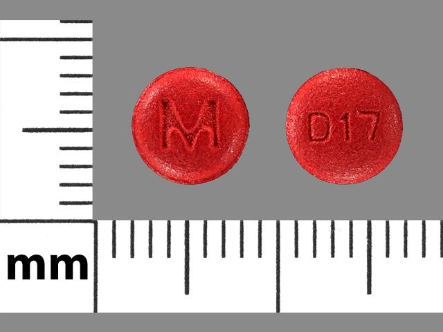 Imprint M D17 - desloratadine 5 mg