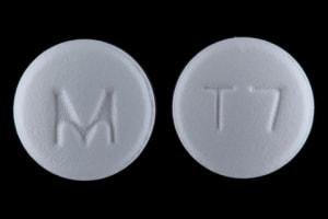 Imprint M T7 - tramadol 50 mg