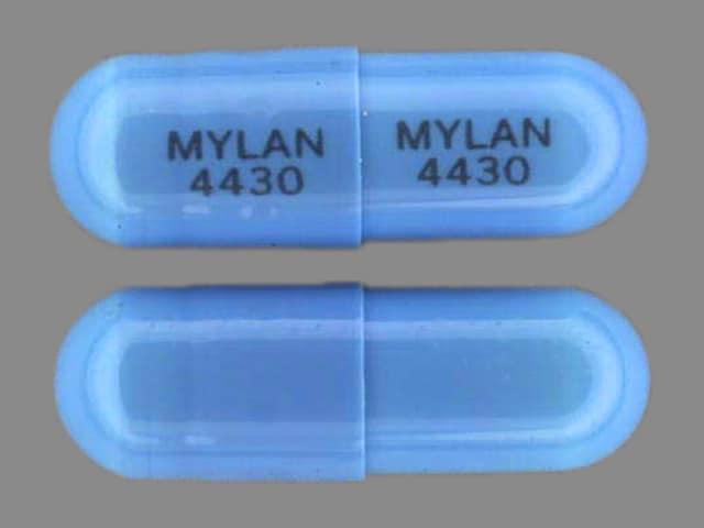 Image 1 - Imprint MYLAN 4430 MYLAN 4430 - flurazepam 30 mg