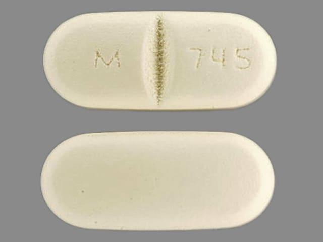 Imprint M 745 - benazepril/hydrochlorothiazide 20 mg / 12.5 mg
