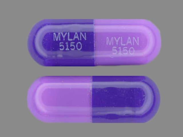 Imprint MYLAN 5150 MYLAN 5150 - nizatidine 150 mg
