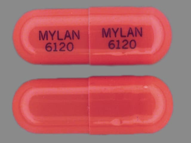 Image 1 - Imprint MYLAN 6120 MYLAN 6120 - Diltiazem Hydrochloride SR 120 mg