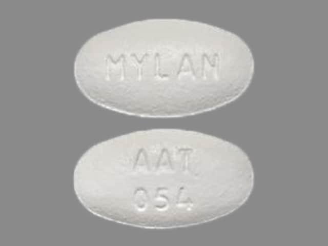 Imprint AAT 054 MYLAN - amlodipine/atorvastatin 5 mg / 40 mg