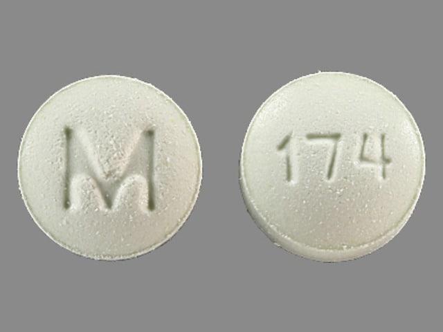 Imprint M 174 - metolazone 10 mg