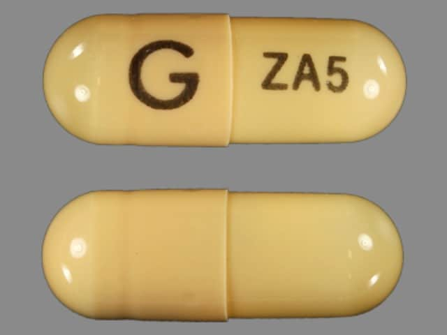 Image 1 - Imprint G ZA5 - zaleplon 5 mg
