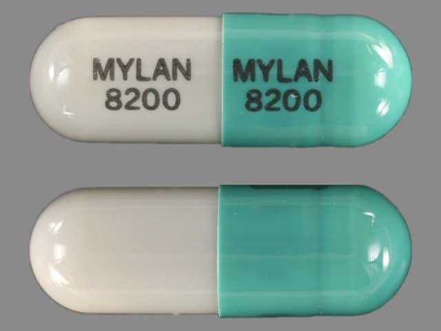 Imprint MYLAN 8200 MYLAN 8200 - ketoprofen 200 mg
